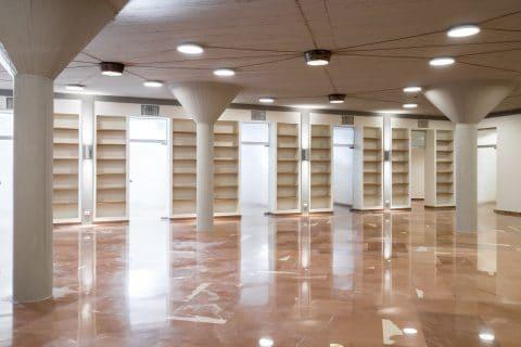 Nuova Biblioteca e Sala Lettura del Pontificio Collegio Pio Brasiliano